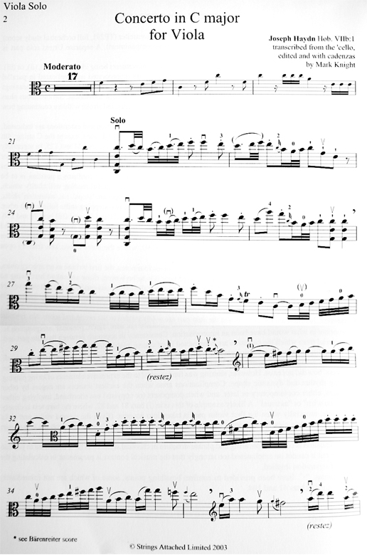 Concerto in C major for Viola, Haydn Hob.VIIb:1, images/images/Haydn_Viola_sample.jpg