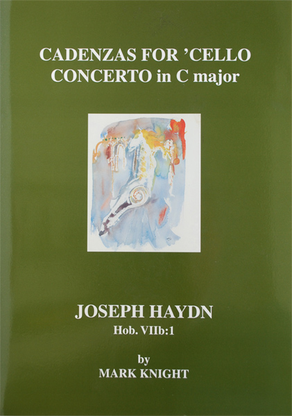 Cadenzas for Haydn Cello Concerto in C Hob. VIIb:1